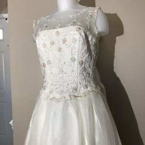 Ivory Wedding Gown never worn -see additional post